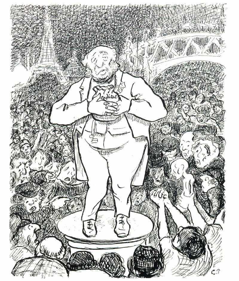 Camille Pissarro, Turpitudes sociales - C'est la guerre
