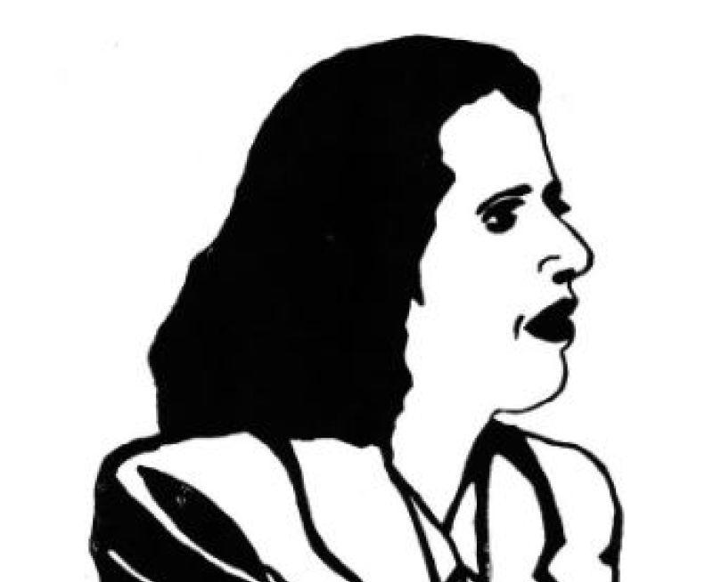 Genevieve de Gaulle - Sophie Degano - Grace a Elles - Musee des Beaux-Arts de Morlaix