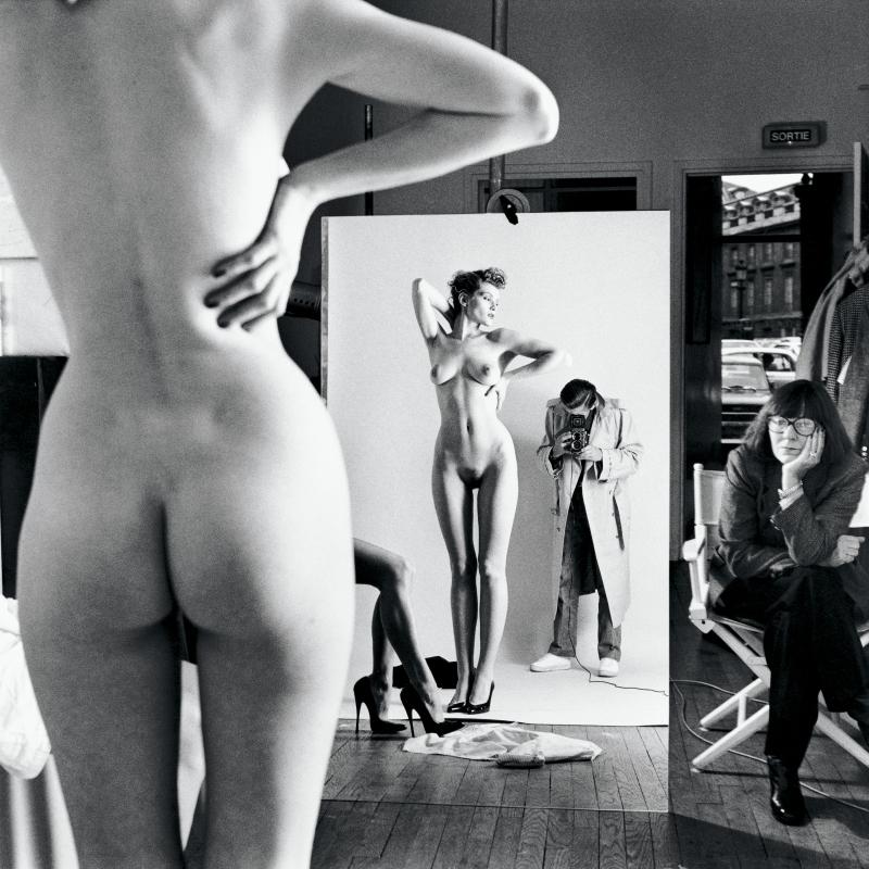 !HUSTON  Helmut Newton – Icones - Musee de la photographie Charles Negre Nice