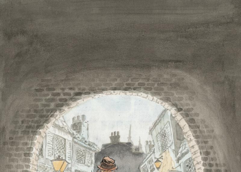 Couverture de Fagin le juif - Will Eisner - Cite Internationale de la Bande Dessinee - Angouleme