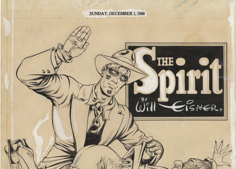 Spirit - Will Eisner - Cite Internationale de la Bande Dessinee - Angouleme