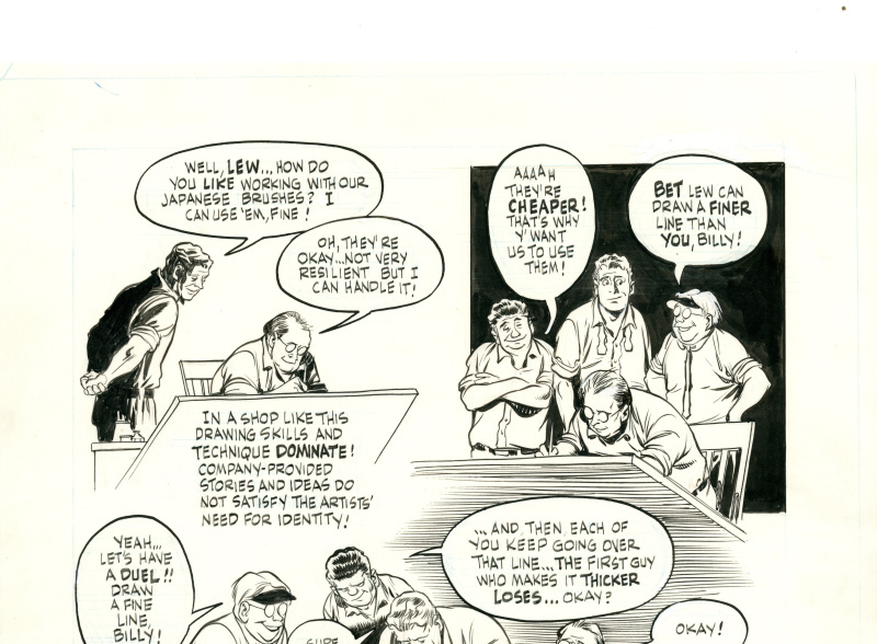 The dreamer - Will Eisner - Cite Internationale de la Bande Dessinee - Angouleme
