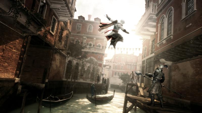 Assassin's Creed II Ezio Auditore , GAME, le jeu vidéo à travers le temps, Espace Fondation EDF