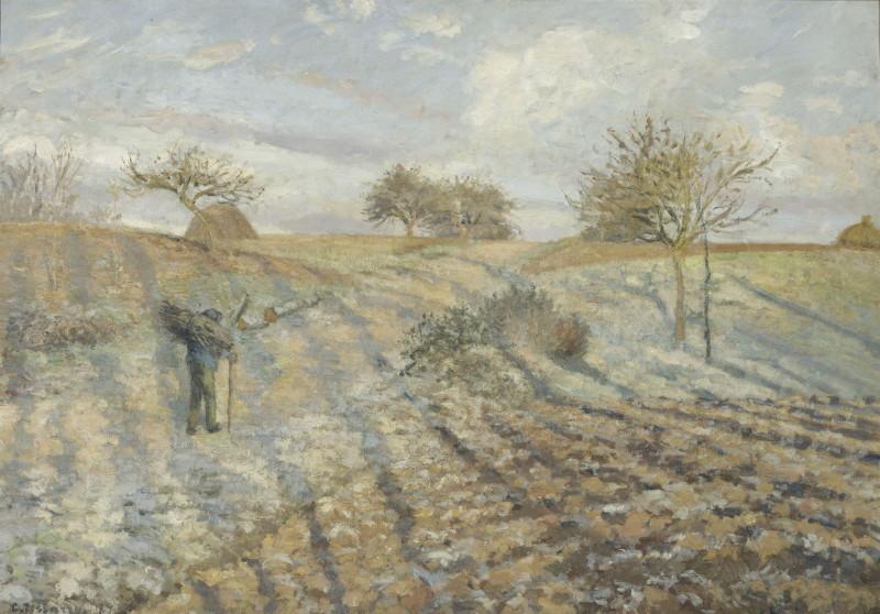 Pissarro Camille (1830-1903). Paris, musée d'Orsay. RF1972-27.