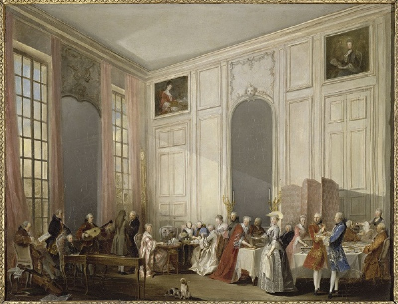 Ollivier Michel Barthélemy (1712-1784). Versailles, châteaux de Versailles et de Trianon. MV3824.