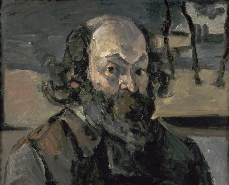 Portrait de l'artiste, Portraits de Cézanne, Musée d'Orsay