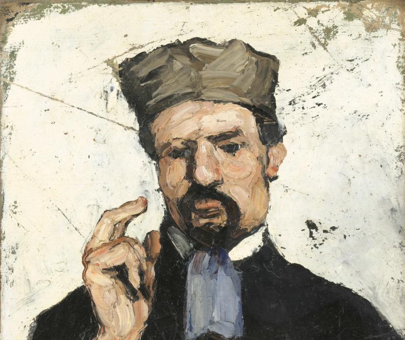 L'Avocat, Portraits de Cézanne, Musée d'Orsay