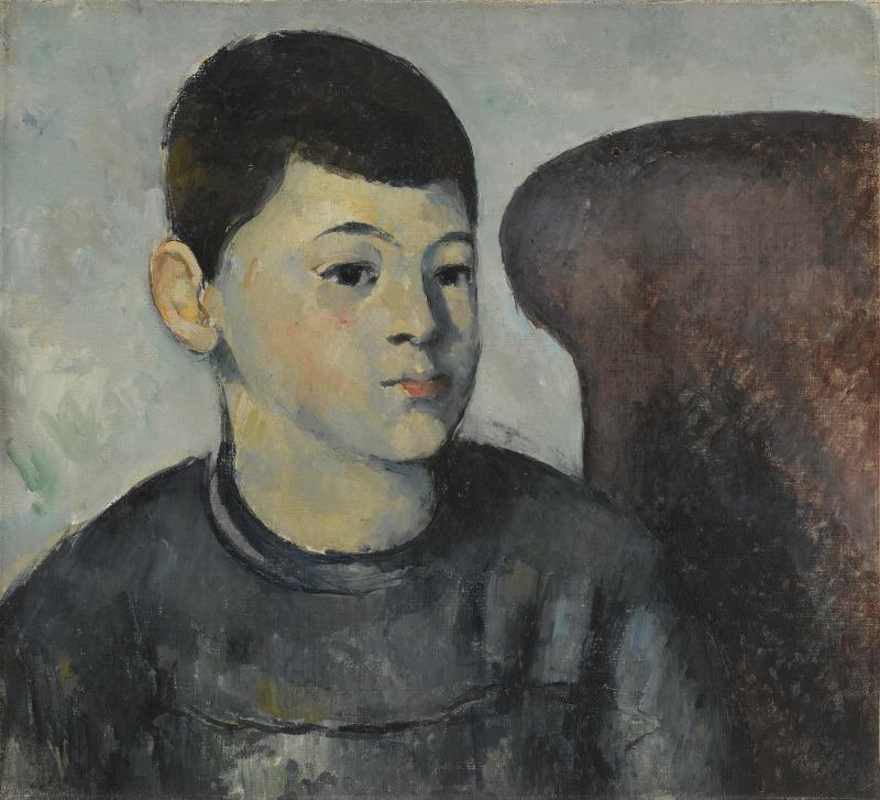 Portrait du fils de l'artiste, Portraits de Cézanne, Musée d'Orsay