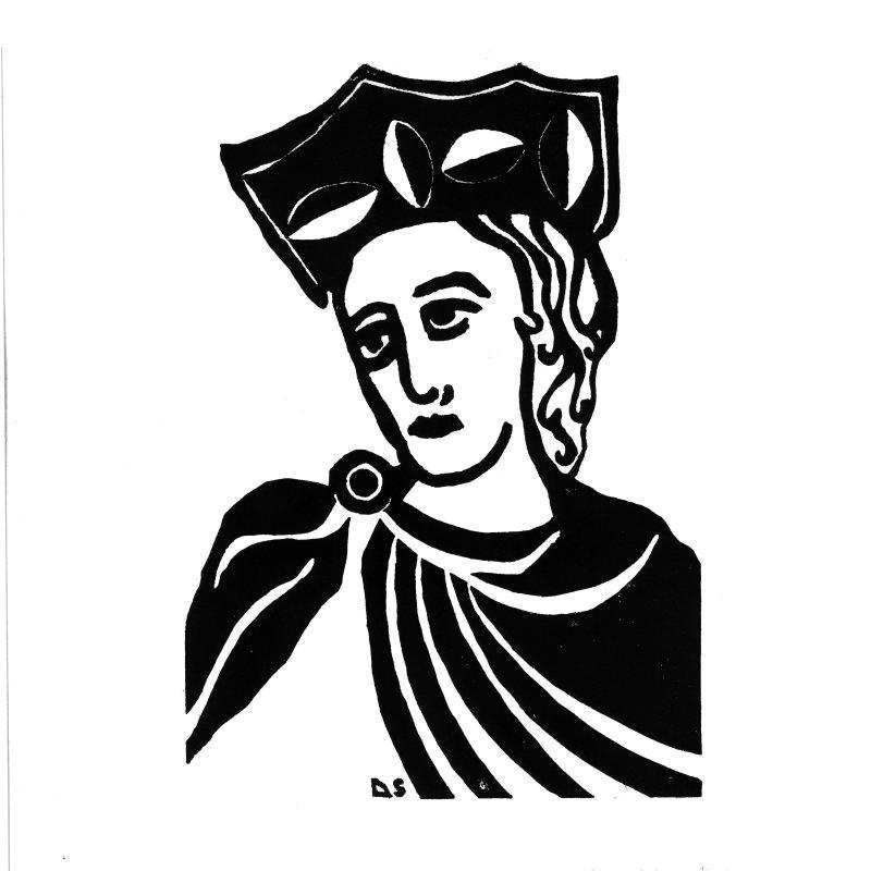 Aliénor d'Aquitaine - Sophie Degano - Grâce à elles - Musée des Beaux-Arts de Morlaix