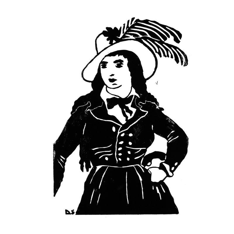 Théroigne de Méricourt - Sophie Degano - Grâce à elles - Musée des Beaux-Arts de Morlaix