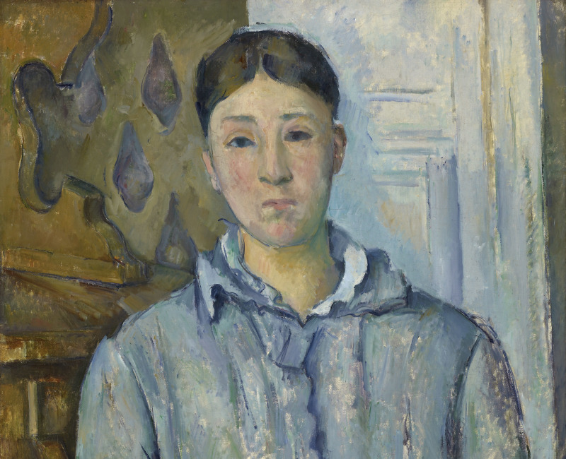 Madame Cézanne en bleu, Portraits de Cézanne, Musée d'Orsay