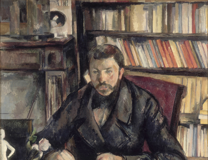 Gustave Geffroy, Portraits de Cézanne, Musée d'Orsay