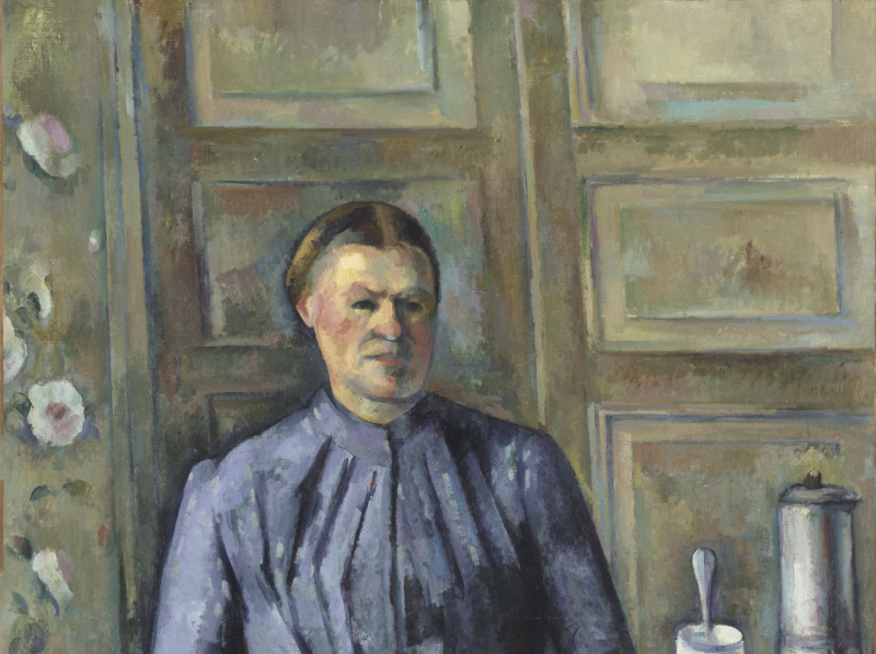 La femme à la cafetière, Portraits de Cézanne, Musée d'Orsay