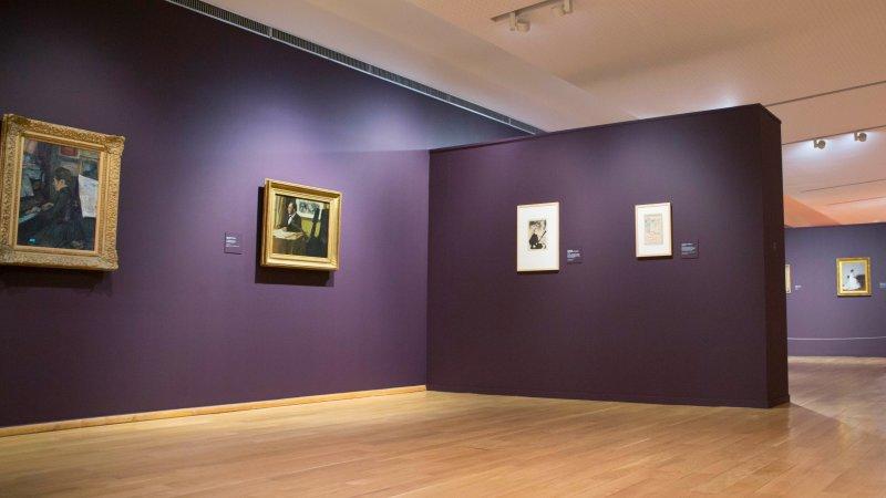 Vue de l'exposition Tintamarre - Musée des Impressionnismes, Giverny