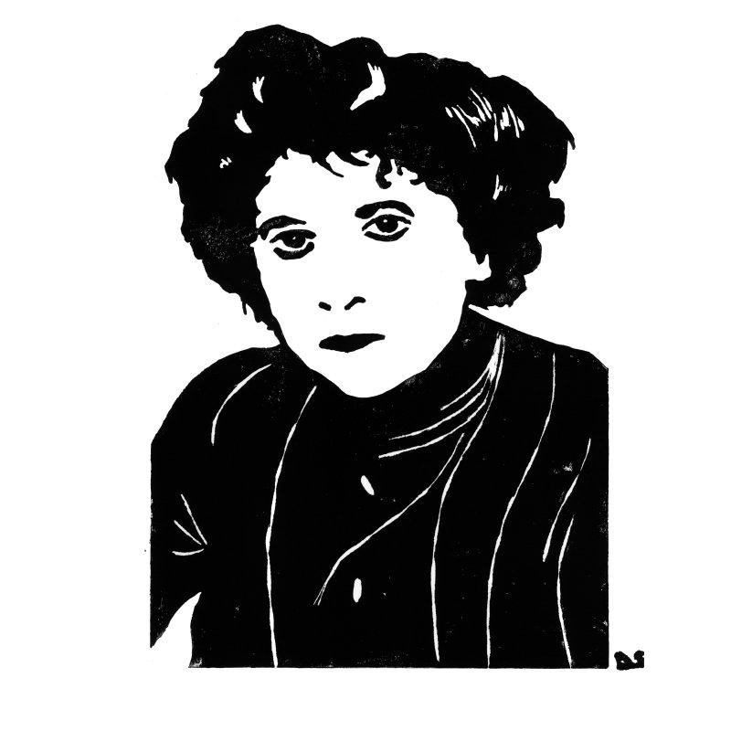 Hubertine Auclert - Sophie Degano - Grâce à elles - Musée des Beaux-Arts de Morlaix