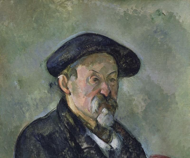 Portrait de l'artiste au béret, Portraits de Cézanne, Musée d'Orsay