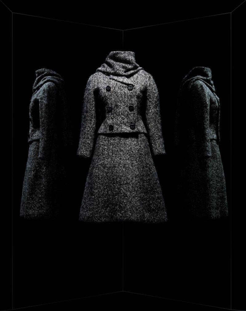 Marc Bohan pour Christian Dior. Tailleur Gamin. haute couture automne-hiver 1961, collection Charme 62.