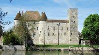 Chateau de Nemours, Vue exterieure