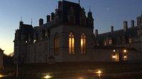 Chateau Ecouen vue de nuit