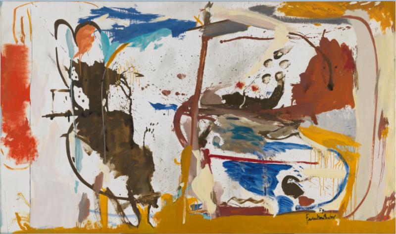 First Creatures, Helen Frankenthaler, Gagosian Gallery