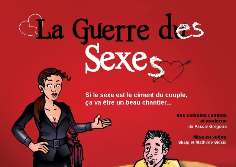 La Guerre des Sexes au Théâtre Les Feux de la Rampe jusqu'au 2 juillet 2017