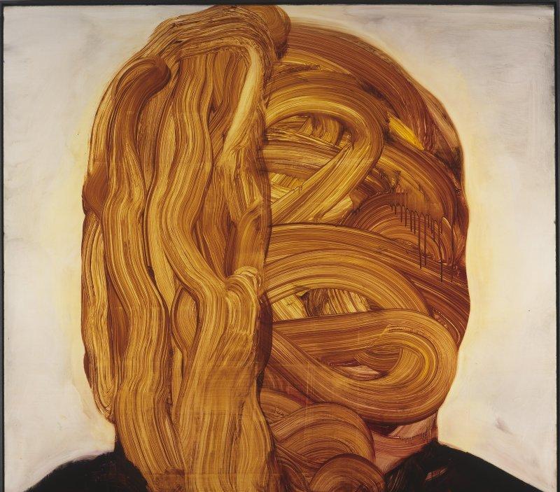 Sans titre, encre sur kappa, 2015, Johan Van Mullem, Loo & Lou Gallery