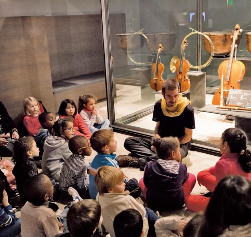 Contes au Musée à la Philharmonie de Paris les 7, 14, 21 et 28 mai 2017