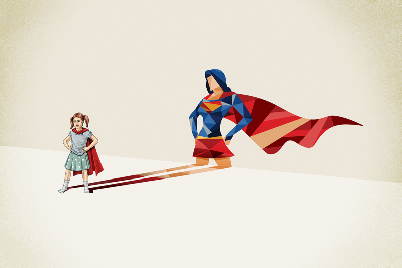 Girl Super Power, Galerie Sakura