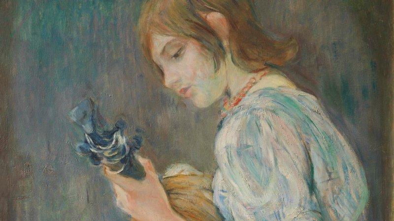 Berthe Morisot (1841-1895) La Mandoline, 1889 - exposition Tintamarre - Musée des Impressionnismes, Giverny
