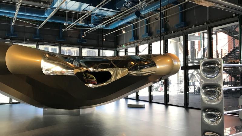 Ross Lovegrove convergence pompidou expo 45