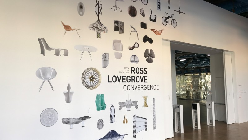 Ross Lovegrove convergence pompidou expo