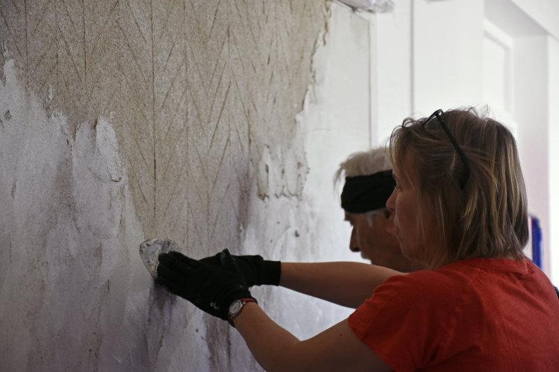 Stage Fresques Lombards (1) - Entre les murs de Fresques au Mopo de Troyes