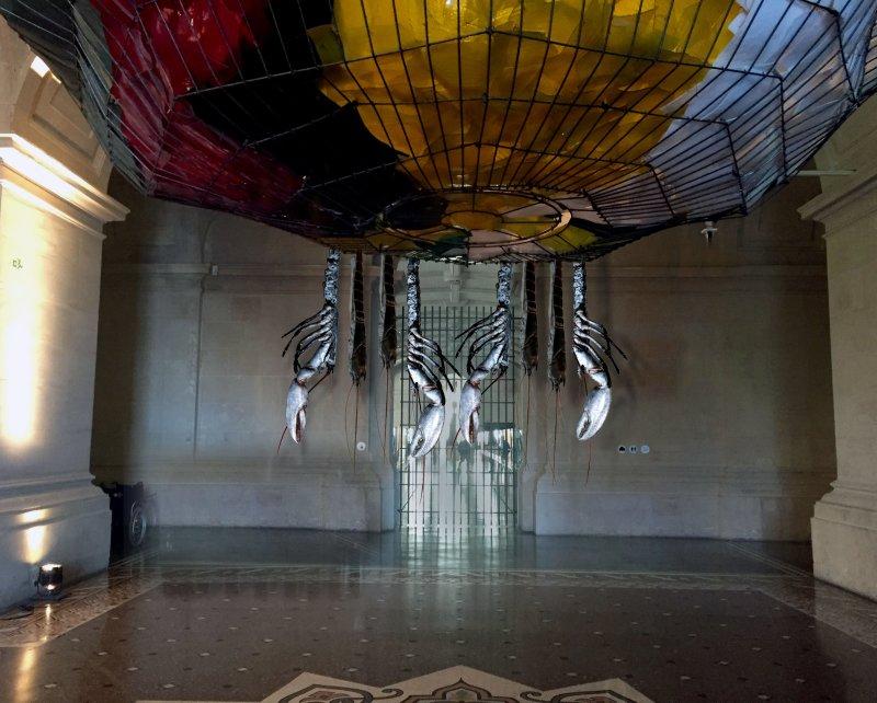 Alain Passard - Tango à Chausey - bronze - Open Museum PBALille 2017 (c)APassard, Expointhecity