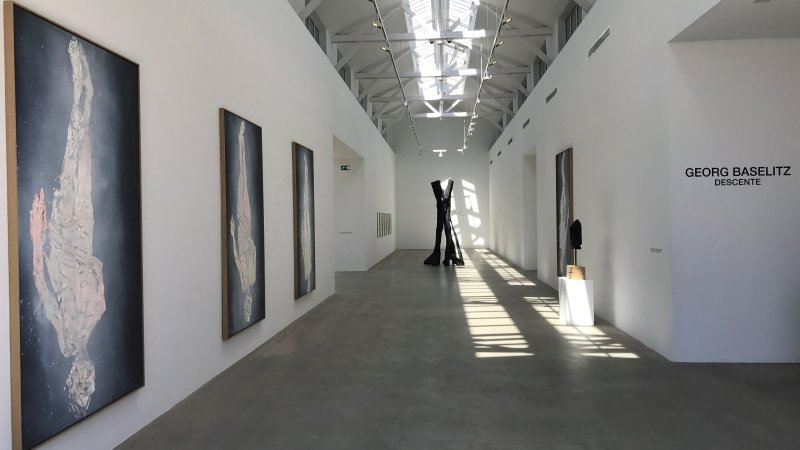 exposition Georg Baselitz galerie Ropac Pantin 23