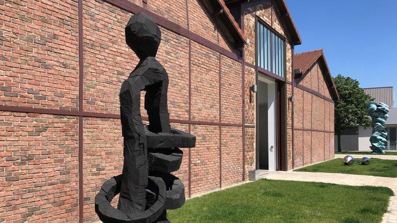 exposition Georg Baselitz galerie Ropac Pantin 25