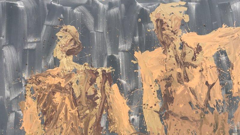 exposition Georg Baselitz galerie Ropac Pantin 4