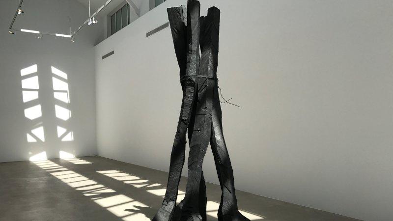 exposition Georg Baselitz galerie Ropac Pantin 5