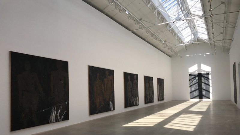 exposition Georg Baselitz galerie Ropac Pantin