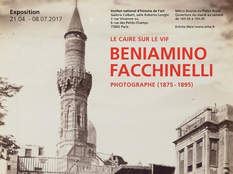 Exposition Le Caire sur le vif - Photographe Facchinelli 1875-1895