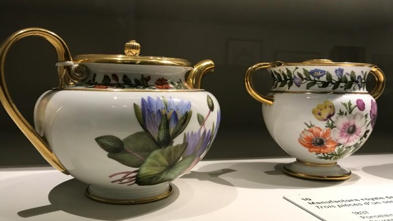 Exposition Pierre-Joseph Redoute le pouvoir des fleurs musee de la Vie Romantique Paris 1892