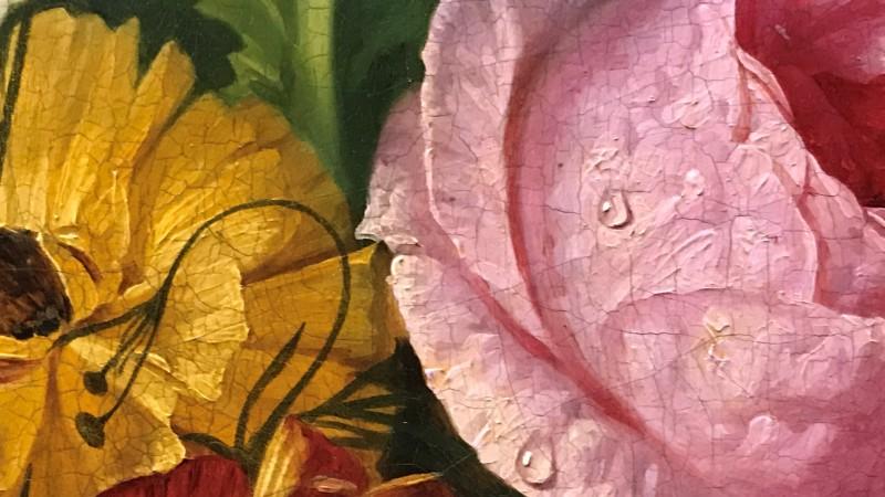 Exposition Pierre-Joseph Redoute le pouvoir des fleurs musee de la Vie Romantique Paris 1933