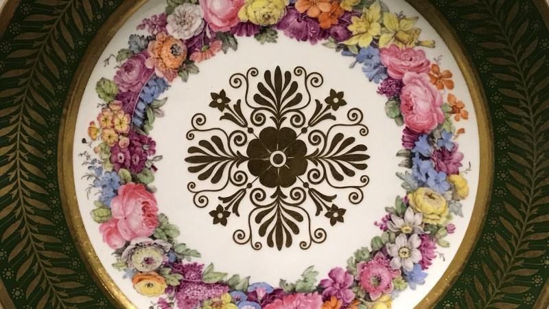 Exposition Pierre-Joseph Redoute le pouvoir des fleurs musee de la Vie Romantique Paris1893