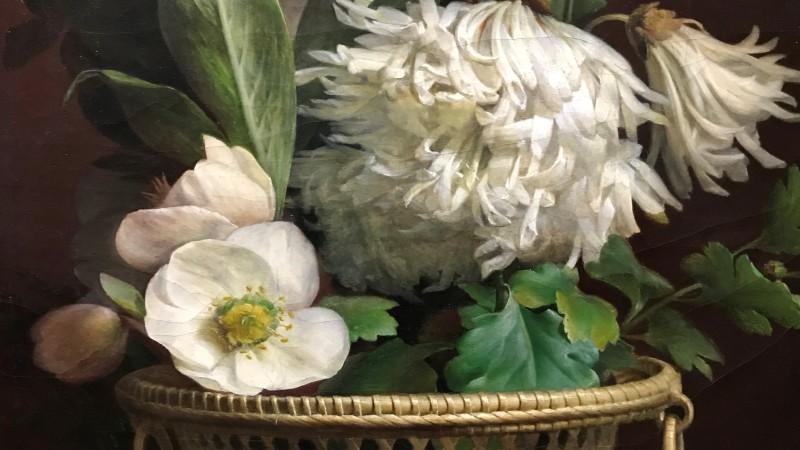 Exposition Pierre-Joseph Redoute le pouvoir des fleurs musee de la Vie Romantique Paris1934