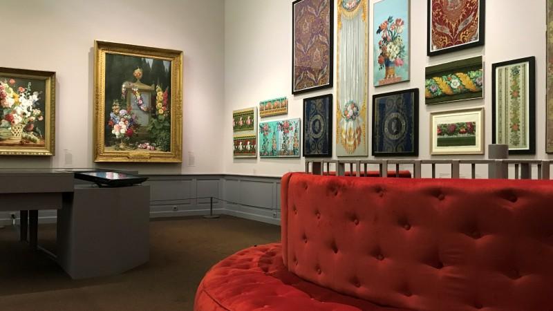Exposition Pierre-Joseph Redoute le pouvoir des fleurs musee de la Vie Romantique Paris1935