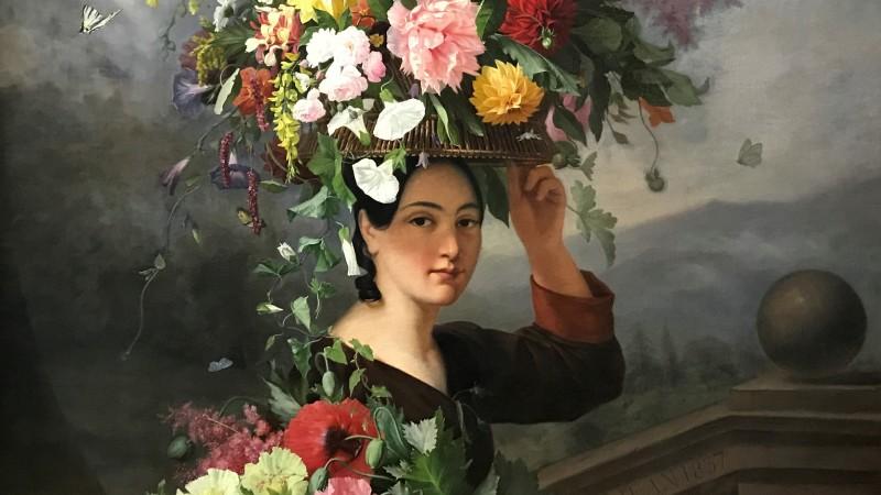 Exposition Pierre-Joseph Redoute le pouvoir des fleurs musee de la Vie Romantique Paris_1909