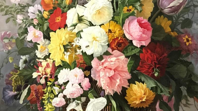 Exposition Pierre-Joseph Redoute le pouvoir des fleurs musee de la Vie Romantique Paris_1910
