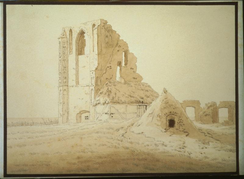 Friedrich, Ruines, Musée des Beaux-Arts d'Angers