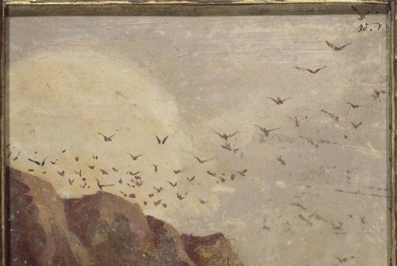Redon Odilon (1840-1916). Paris, musée d'Orsay. RF1984-78.