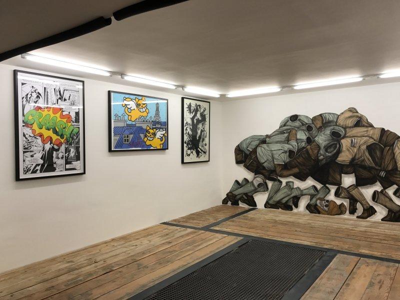 Ma Collection d'art urbain - Galerie Brugier Regail Paris 3