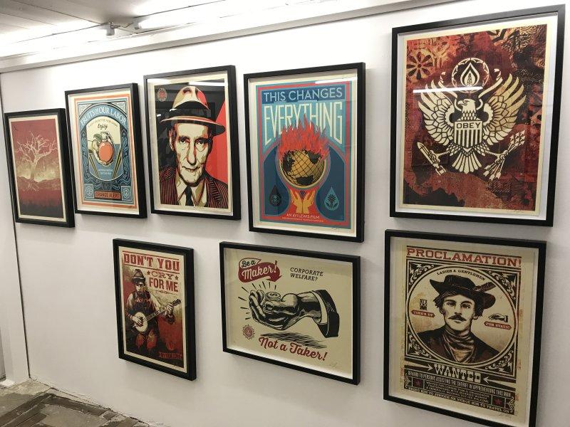 Ma Collection d'art urbain - Galerie Brugier Regail Paris 57